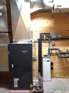residential HVAC Install