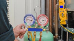 Charging HVAC system